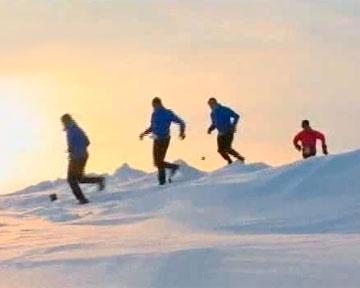 Марафон на Северном Полюсе +Видео