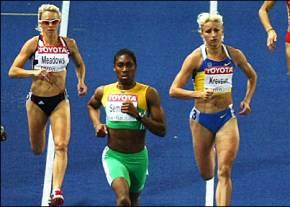 Кастер Семеня будет знаменосцем сборной ЮАР на открытии Олимпиады-2012