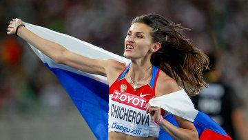 Анна Чичерова – победительница четвертого этапа Бриллиантовой лиги 2012 в Юджине