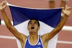 Двукратный чемпион Европы Мехди Баала вернулся на дорожку