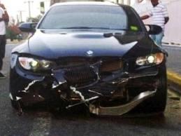 Усейн Болт снова попал в автокатастрофу на Ямайке