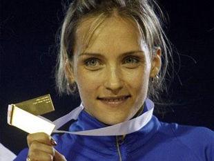 Ольга Саладуха – победительница чемпионата Европы в Хельсинки в тройном прыжке