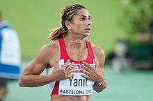 Невин Янит - победительница чемпионата Европы в Хельсинки в барьерном беге на 100 м +Видео
