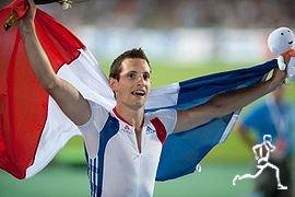 Рено Лавиллени - победитель чемпионата Европы в Хельсинки в прыжках с шестом