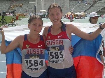 Екатерина Медведева - победительница чемпионата мира среди юниоров в спортивной ходьбе
