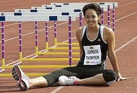 Катарина Джонсон-Томпсон - победительница чемпионата мира среди юниоров в прыжке в длину