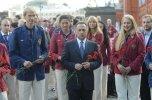 В Москве состоялись проводы сборной команды России на Олимпийские игры в Лондоне +Видео, Фото