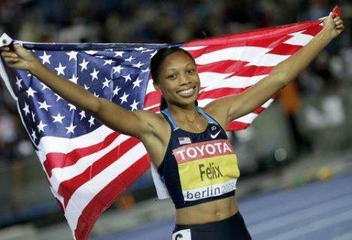 Эллисон Феликс - победительница Олимпийских игр 2012 в  беге на 200м + видео