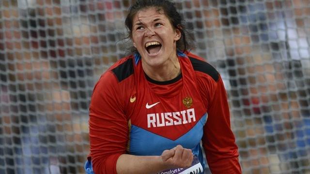 Дарья Пищальникова – серебряный призёр десятого этапа «Бриллиантовой лиги 2012» в метании диска в Стокгольме