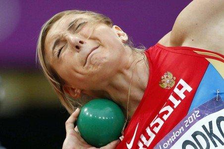 Евгения Колодко – серебряный призёр десятого этапа «Бриллиантовой лиги 2012» в толкании ядра в Стокгольме