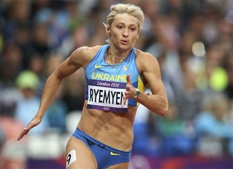 Мария Ремень - бронзовый призёр десятого этапа «Бриллиантовой лиги 2012» в беге на 200м в Стокгольме +Видео