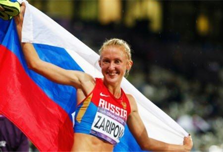 Юлия Зарипова – победительница десятого этапа «Бриллиантовой лиги 2012» в беге на 3000 м с препятствиями в Стокгольме