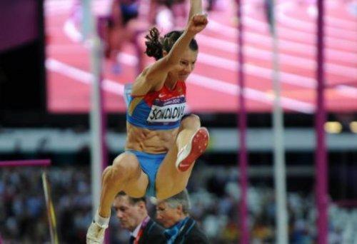 Елена Соколова – победительница десятого этапа «Бриллиантовой лиги 2012» в прыжках в длину в Стокгольме