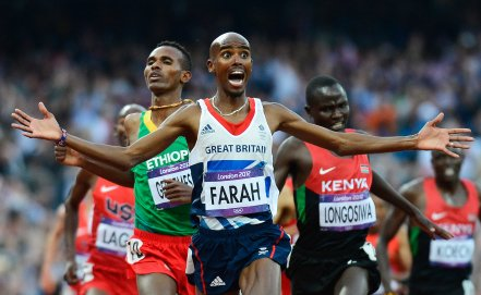 Олимпийский финал бега на 10 000 м был признан самым зрелищным событием на британском телевидении +Видео