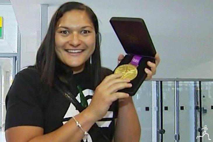Валери Адамс вручили золотую медаль Игр-2012