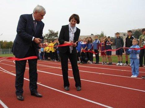 В Санкт-Петербурге открылся легкоатлетический стадион