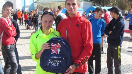 Хочешь выиграть Рюкзак с Олимпийских Игр 2012?