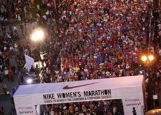 Результаты Nike Women's Marathon