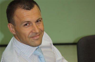 Кандидат в президенты федерации Украины Андрей Онистрат: