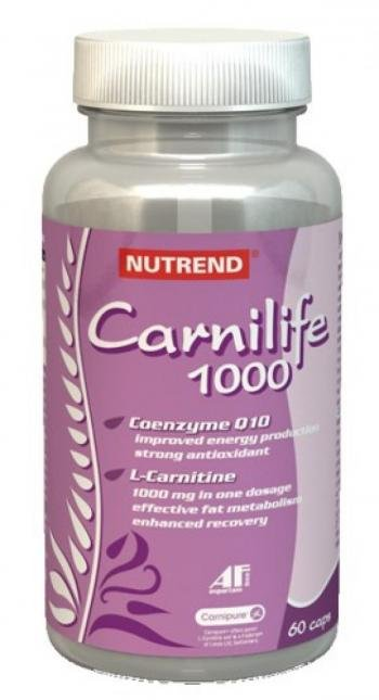 L-карнитин Carnilife 1000 - NUTREND - Жиросжигатели