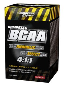 Compress BCAA - NUTREND - Аминокислоты