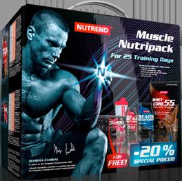 Muscle Nutripack - NUTREND - Специальные наборы