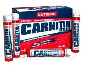 Carnitin 1000 Enduro - NUTREND - Энергия