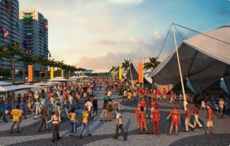 Олимпийская деревня в Рио-де-Жанейро +Фото