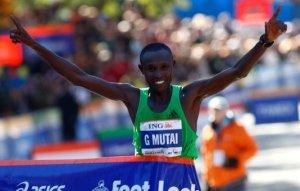 Кенийцы Джеффри Мутаи и Мэри Кейтани победители World Marathon Majors Series