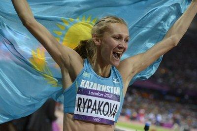Ольга Рыпакова - лучшая легкоатлетка Казахстана-2012