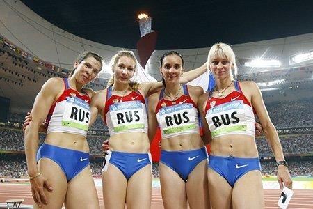 Россия получила статус лидера мирового спорта