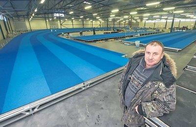 Фирма рекордсмена Эстонии по прыжкам с шестом изготовила арену для чемпионата Европы