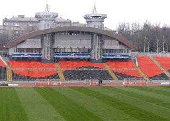В Донецке непогода остановила реконструкцию стадионов к ЧМ по легкой атлетике