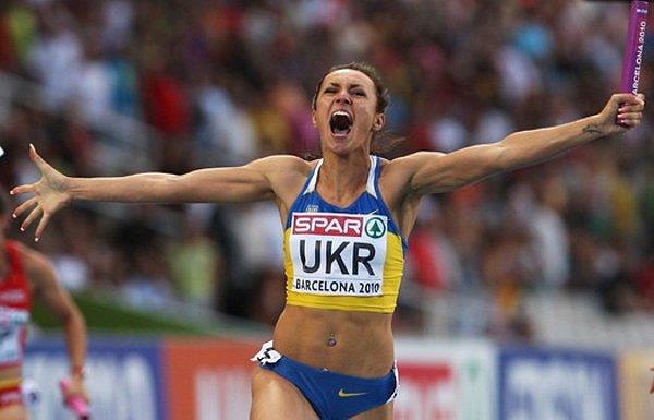 Елизавета Брызгина - лучший спортсмен Луганщины 2012 года