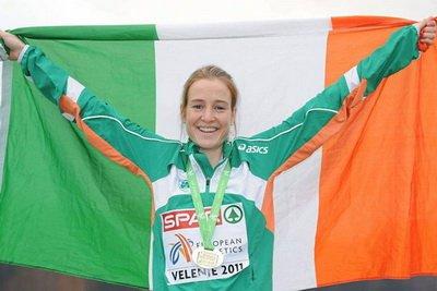 Ирландка Фионнула Бриттон и итальянец Андреа Лалли признаны лучшими легкоатлетами Европы в декабре 2012