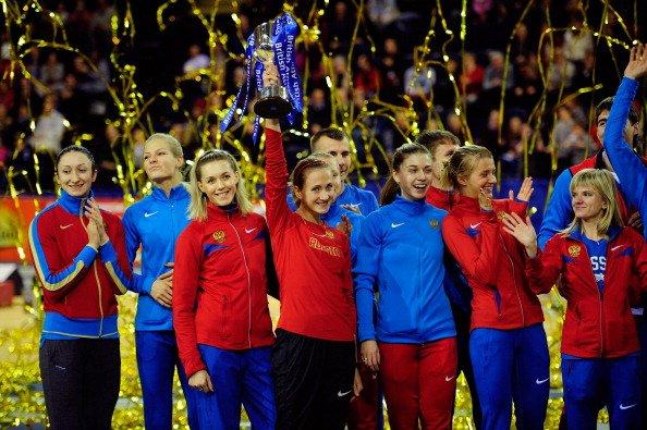 Сборная России победила на международном матче пяти стран