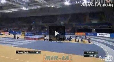 Bernard LAGAT 7:53.36 3000m Athletics Glasgow International Match