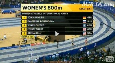 Екатерина Поистогова - Международный матч пяти стран
