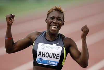 Мюриэль Ауре установила лучший результат сезона в мире в беге на 60 м