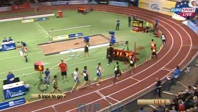Mahiedine Mekhissi-Benabbad 1500 IAAF Indoor Karlsruhe