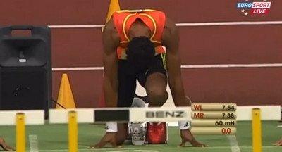 Orlando Ortega 7.61 60m Hurdles IAAF Indoor Karlsruhe