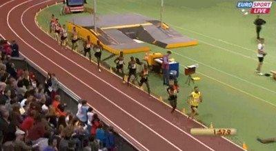 Bernard Lagat 7:34.70 3000m IAAF Indoor Karlsruhe