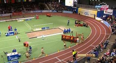 Genzebe DIBABA 4:02.25 - 1500m IAAF Indoor Karlsruhe