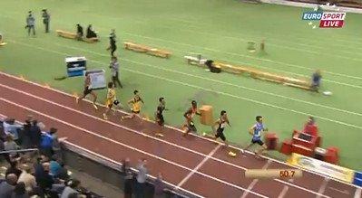 800m Men IAAF Indoor Karlsruhe