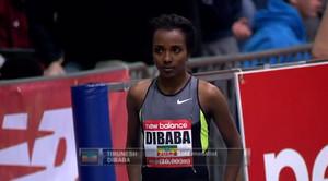 Tirunesh Dibaba - 2013 New Balance Indoor Grand Prix: Women's 2 Mile