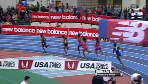 Women's 400m: 2013 New Balance Indoor Grand Prix 2013