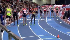 2013 New Balance Indoor Grand Prix: Men's 3000m