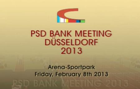 PSD Bank Meeting Dusseldorf 2013 - Полная трансляция