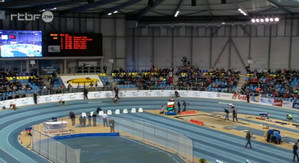 Men's 300m - Flanders Indoors 2013 -Pavel Maslak Denies Kevins Borlee Win at Home!