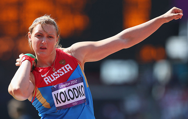 Евгения Колодко – чемпионка России в помещении в толкании ядра